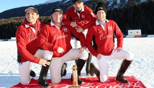 Cartier reina en la nieve de ST. Moritz