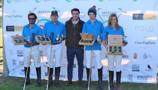 Biarritz, ganador de la primera copa del Iberian Polo Tour de Sotogrande