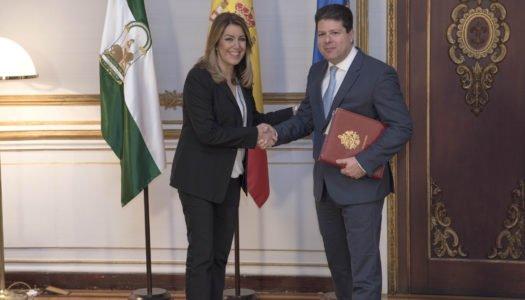 Díaz y Picardo, juntos para garantizar la situación de residentes y trabajadores tras el 'Brexit'