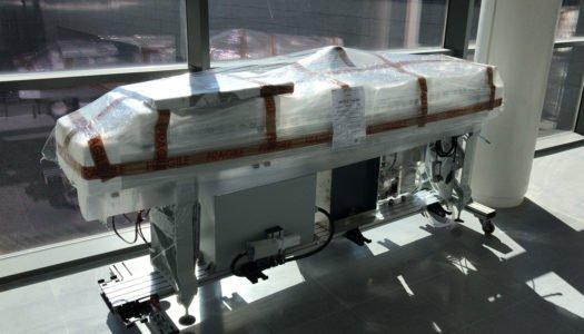 Comienza el montaje del laboratorio en el nuevo Hospital Comarcal