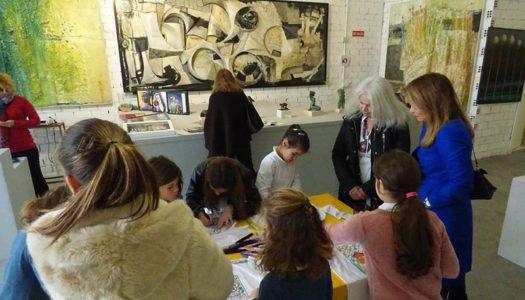 Taller de pintura infantil en Sotogrande, con Osvaldo Lobalzo