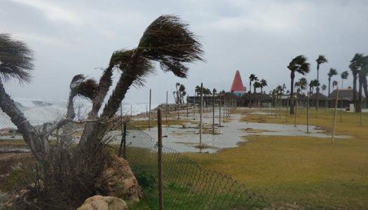 El temporal arremete con fuerza en Sotogrande