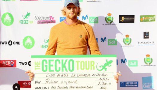 El sueco William Nygard se lleva la prueba del Gecko Tour en La Cañada Golf