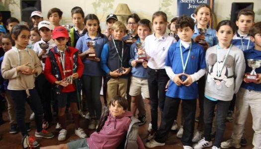 Aguilar y Carretero, de La Cañada Golf, vencedores al inicio del Pequecircuito
