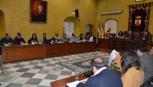 El Pleno ratifica el acuerdo entre Consistorio y Mancomunidad para el agua y gestión de residuos