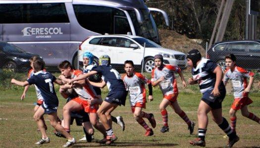 Los Sub 14 del Rugby del Estrecho, campeones de grupo en su categoría