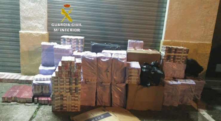Guardia Civil tabaco