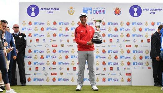 Jon Rahm conquista el Open de España de Golf