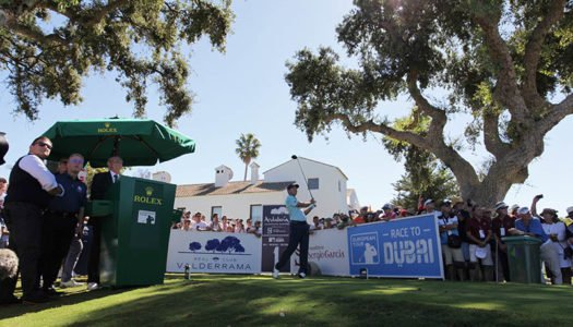 El Andalucía Valderrama Masters de Golf, declarado acontecimiento de excepcional interés