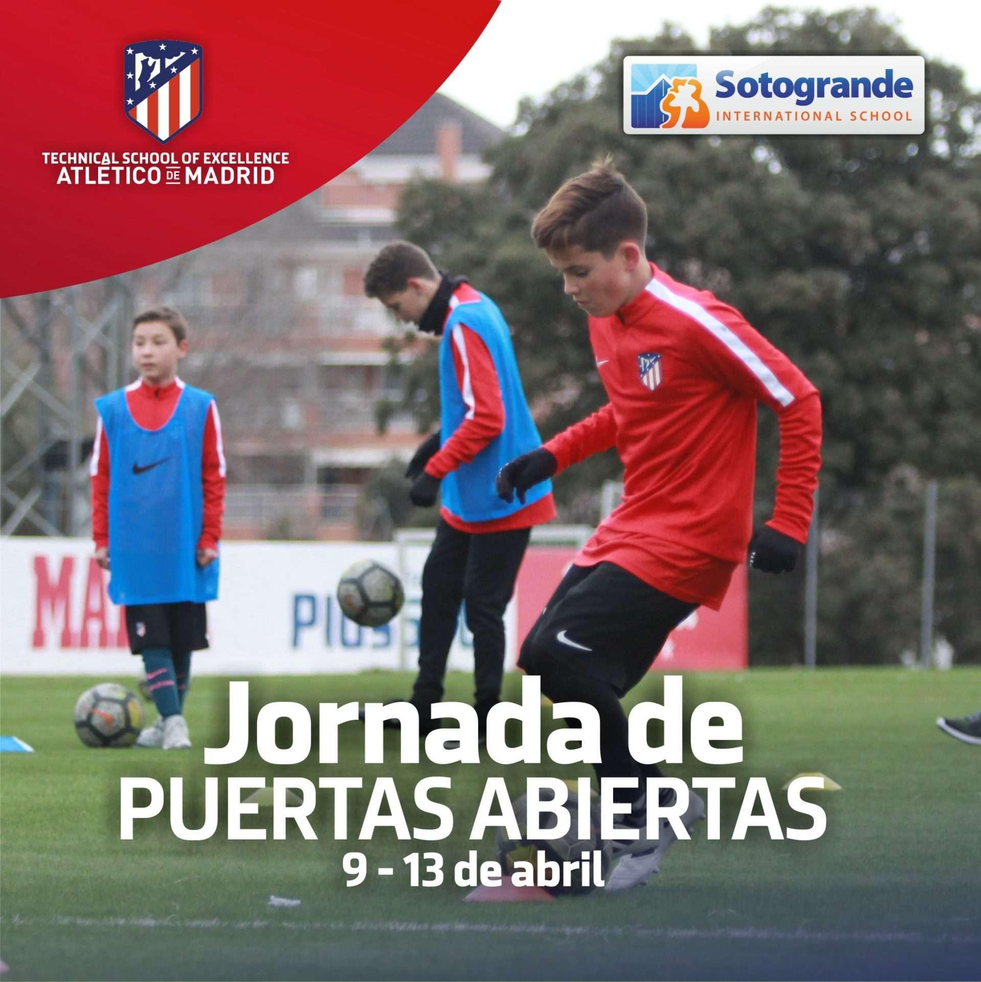 Atlético de Madrid en Sotogrande