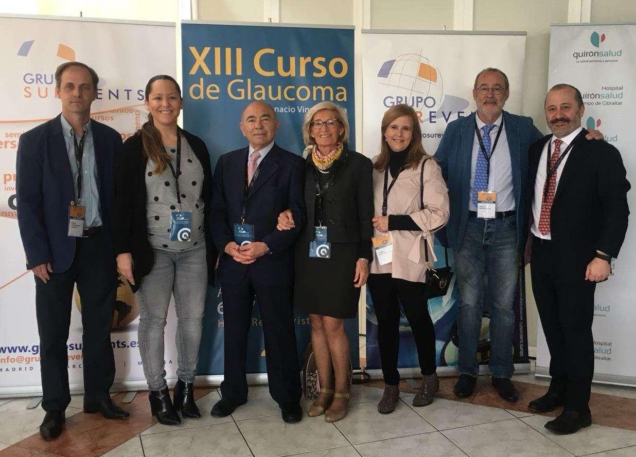 Curso del Glaucoma Quirónsalud