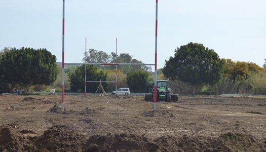 Mejoras en las pistas polideportivas de Pueblo Nuevo