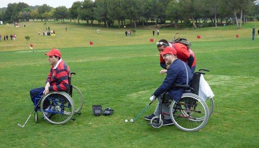 Golf para todos con la Fundación Cepsa y La Cañada
