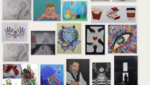 The Arts Society Frontera exhibe el arte juvenil un año más
