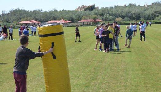 Santa María Polo Club acoge el IV Encuentro Interescolar de Rugby Tag