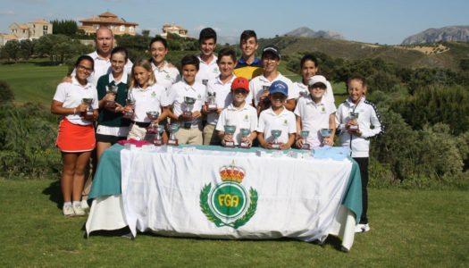 Gran papel de la cantera local en el Circuito Andaluz, en Sherry y Antequera Golf