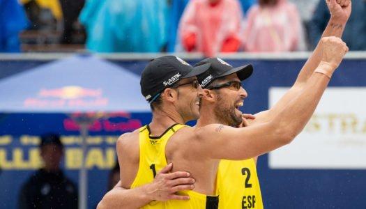 Gavira y Herrera, oro en el Abierto de Voley Playa de República Checa