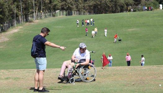 Golf Adaptado: superación y motivación en La Cañada