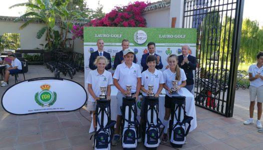 La jugadora de Alcaidesa Golf Mar García, nueva campeona de Andalucía