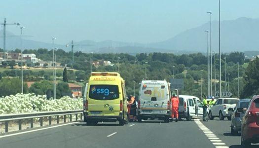 Cinco heridos en un accidente múltiple, a la altura de Sotogrande