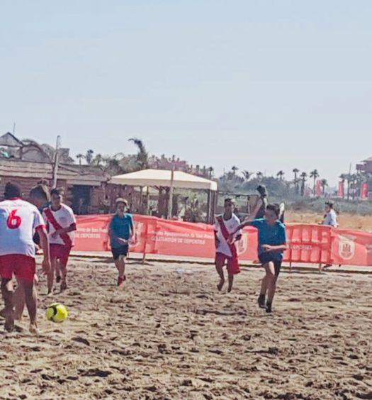 Futbol Playa Torreguadiaro