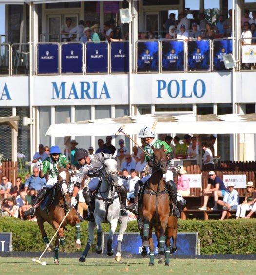 Dubai Vs La Indiana. Polo en Sotogrande