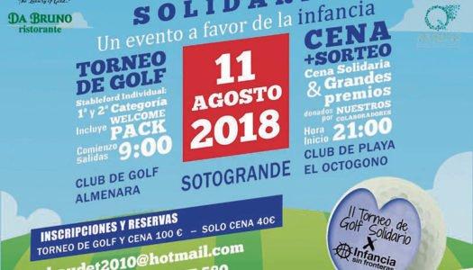 II Torneo de Golf Infancia Sin Fronteras, este sábado