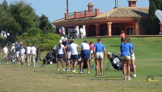 El golf: parcialmente activo en Sotogrande