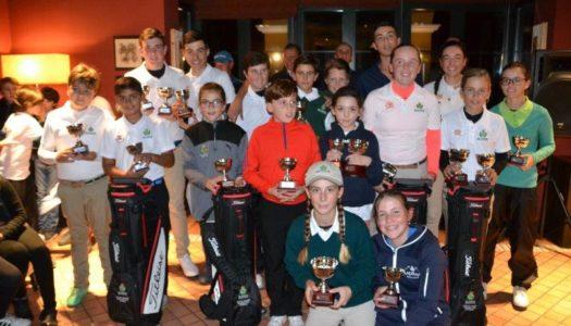 El Valle del Guadiaro sigue formando a grandes campeones de golf