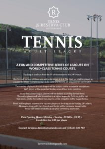 Torneo Tenis La Reserva