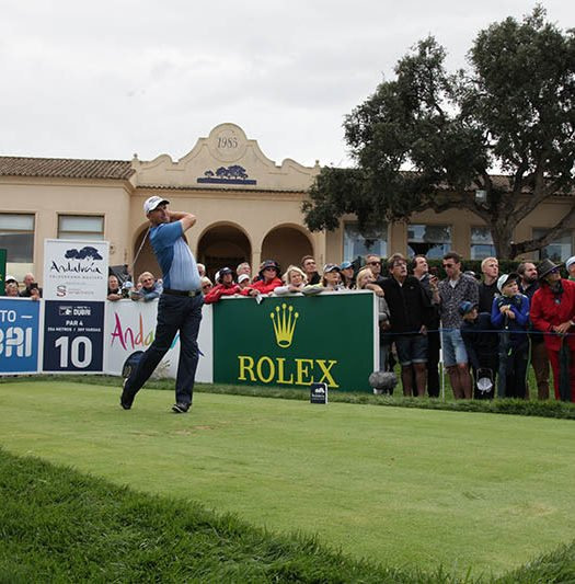 Padraig Harrington, en Valderrama
