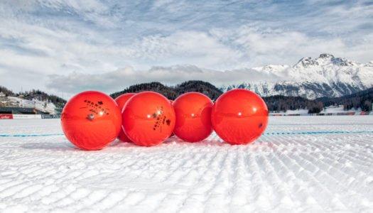 Espectáculo sobre el lago helado de St. Moritz
