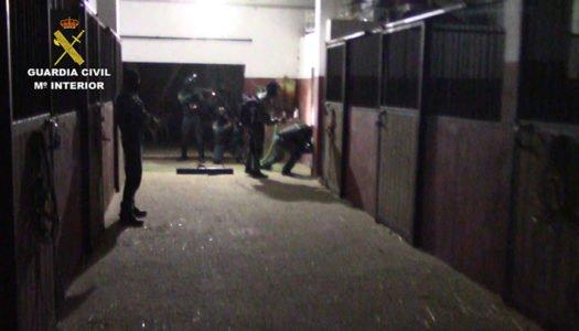 Macro dispositivo de la Guardia Civil contra el narcotráfico en la zona