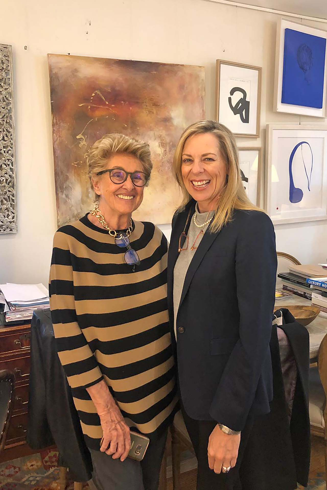 Giuliana Bonini y Stephanie Noll, de Noll & Partners