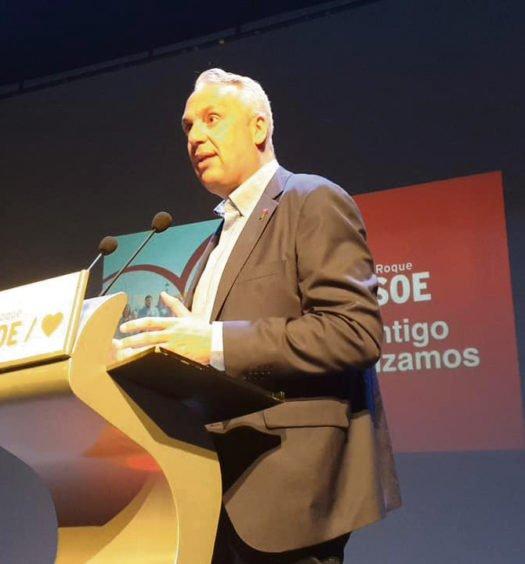Juan Carlos Ruiz Boix, PSOE de San Roque