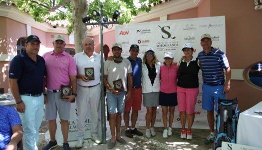 Honores para los ganadores del Circuito en Villa Padierna Golf