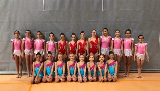 Éxito de la gimnasia rítmica de San Roque en el Campeonato Promesas