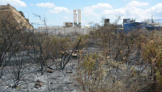 Nuevo incendio en San Roque, en la zona de La Pólvora