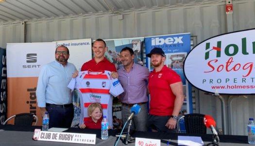Phil Nilsen-Nunn, nuevo director deportivo del club Rugby del Estrecho