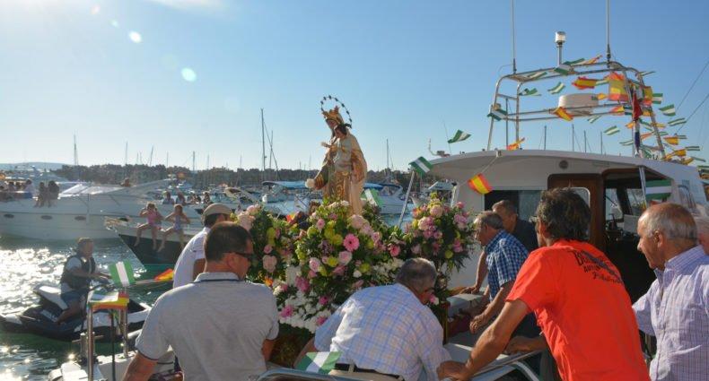Fiesta del Carmen, en Torreguadiaro