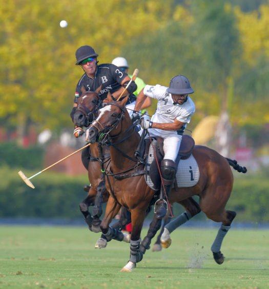 La Indiana vs Bardon Polo Team, polo en Sotogrande