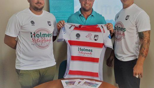 Holmes Sotogrande, patrocinador oficial del Club  Rugby del Estrecho