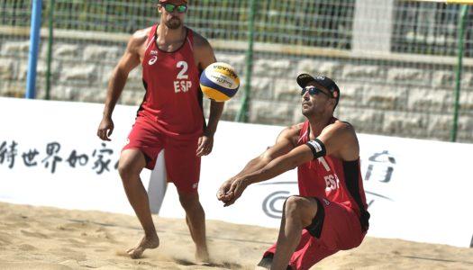 Gavira y Herrera, lanzados en el preolímpico de vóley playa en China