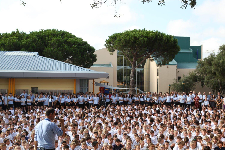 Colegio Internacional Sotogrande, primer día 2019