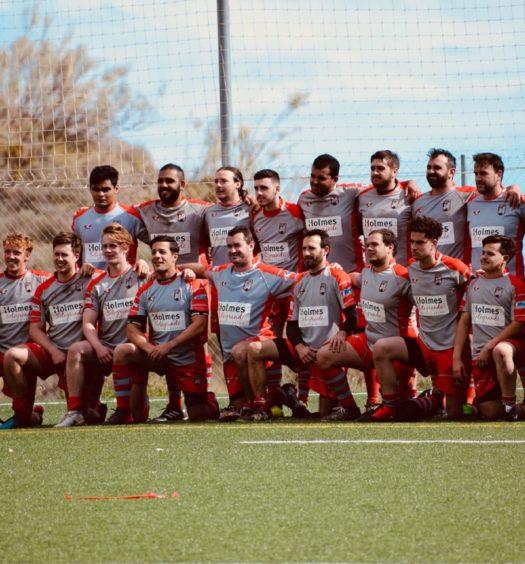 Holmes Rugby del Estrecho
