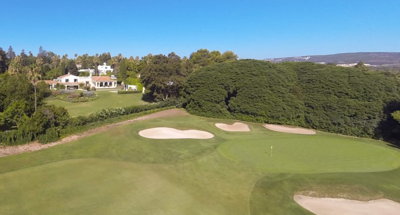 James Stewart, golf en Sotogrande