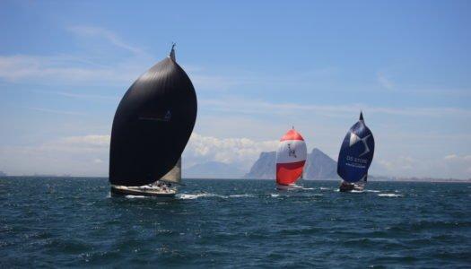 Lance definitivo del IX Campeonato Interclubes del Estrecho, en aguas de Sotogrande