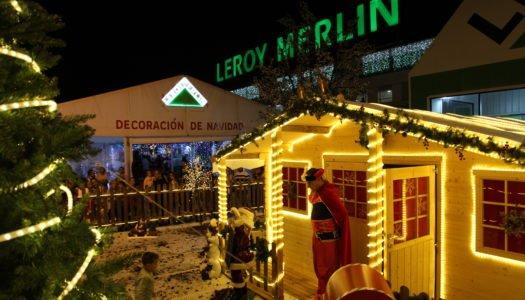 Leroy Merlin sumerge a la Comarca en la Navidad