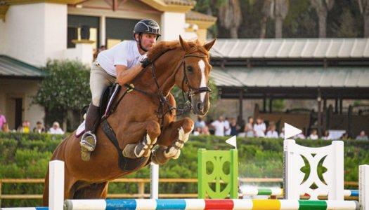El Salto toma el protagonismo este fin de semana en Sotogrande con Santa María Equestrian Club