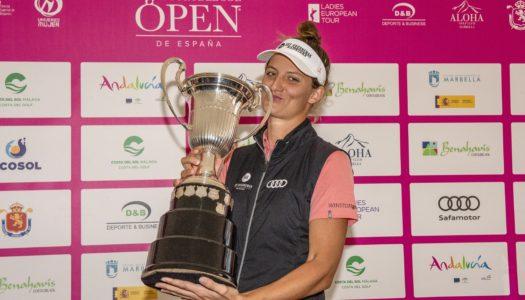 Anne Van Dam repite triunfo en el Open de España de Golf